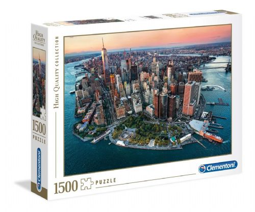 Clementoni High Quality New York 1500pc Puzzle